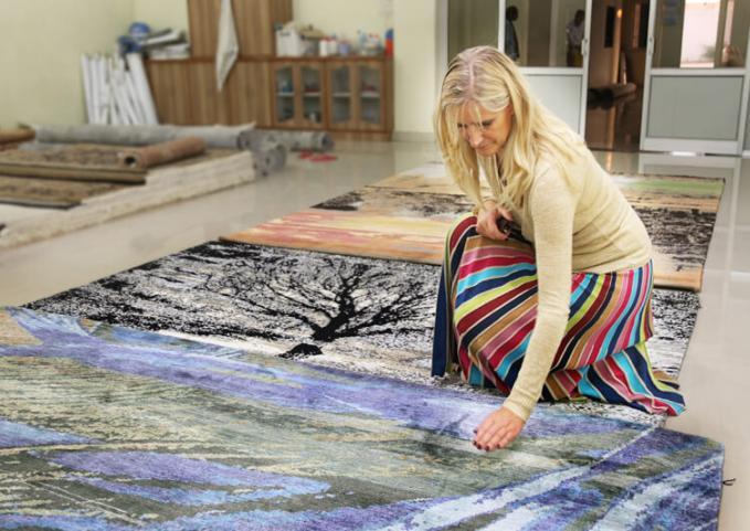 handgeknoopt tapijten selecteren