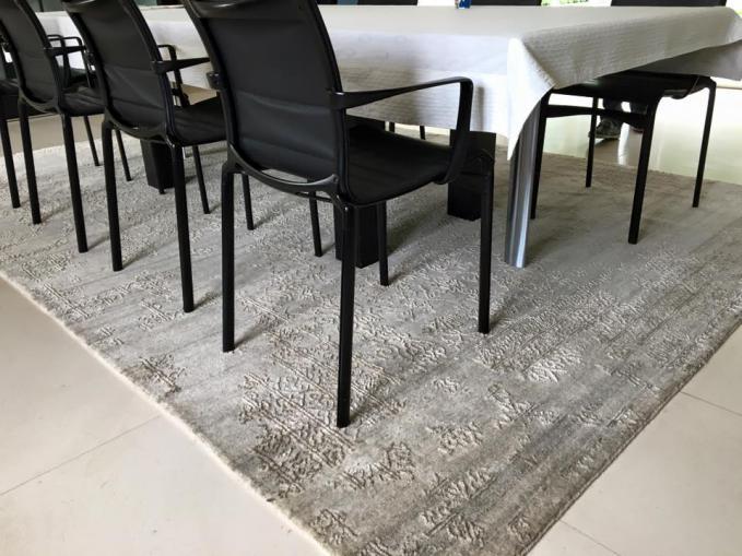 Indisch tapijt broken