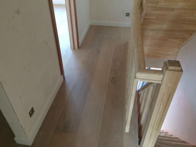 flooring de luxe half-massief parket