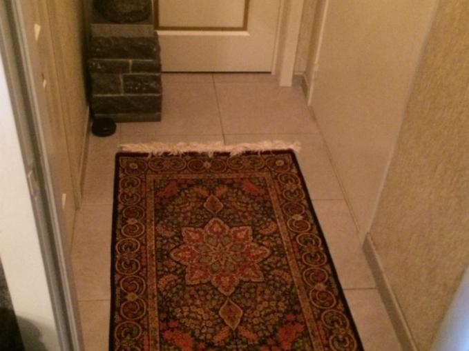 klassiek zijden tapijt