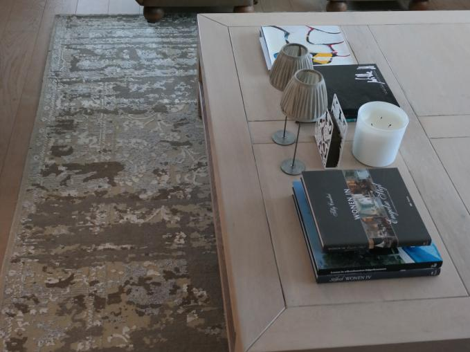 vintage tapijt voor onder salon