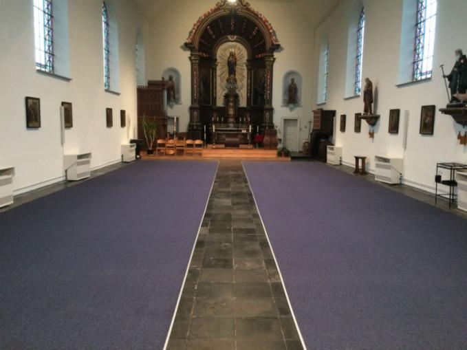 tapijt kerk Edewalle