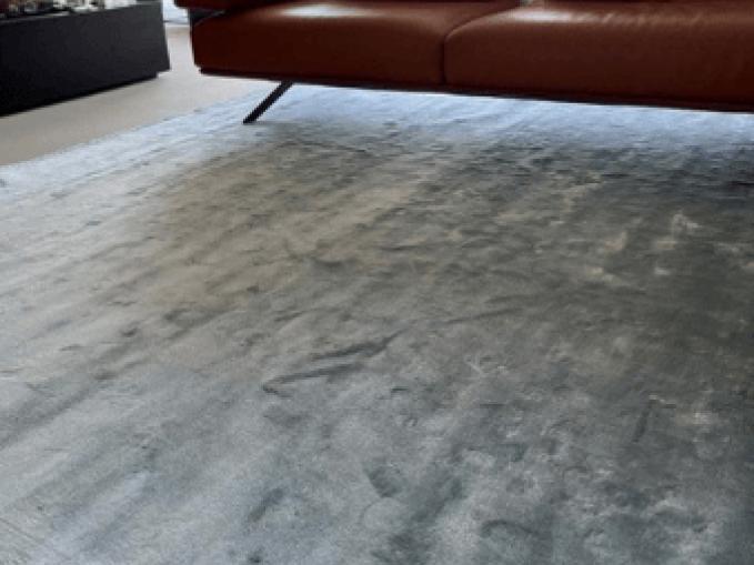 Vantyghem Fashionable Flooring effen tapijt Bamboe zijde Tourmaline