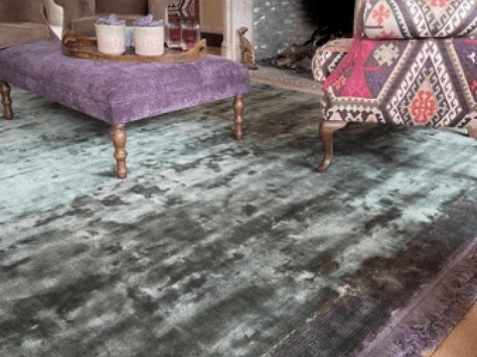 Vantyghem Fashionable Flooring effen tapijt Bamboe zijde Deep depths Magnet 320x350