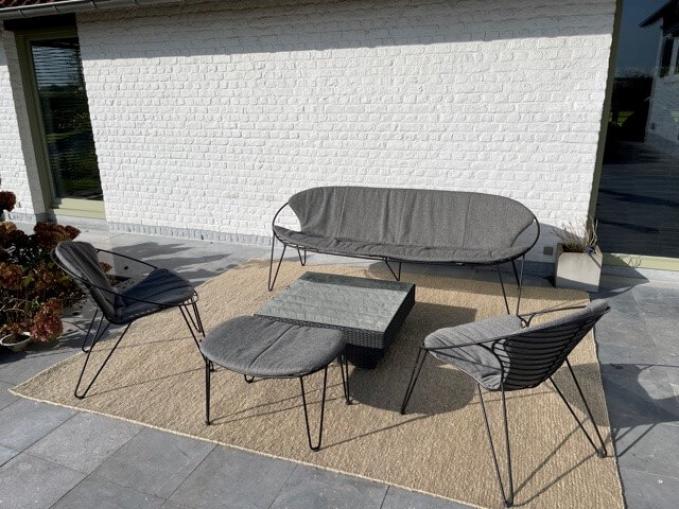 Vantyghem Fashionable Flooring pet yarn outdoor tapijt beige