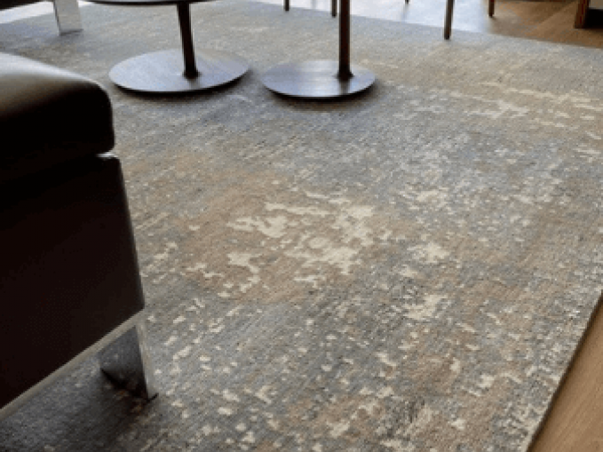 Handgeknoopt tapijt Nepal Himalaya wol Vantyghem Fashionable Flooring