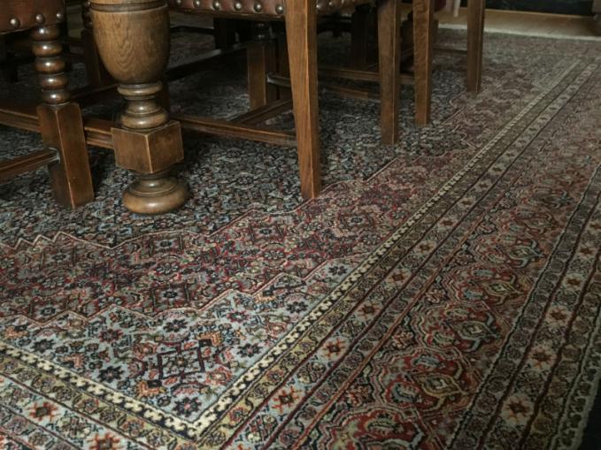 handgeknoopt tapijt bidjar india