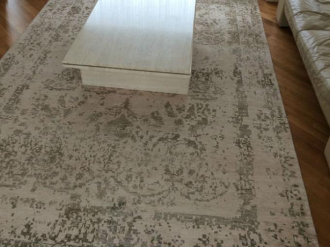 tapijt bamboe zijde