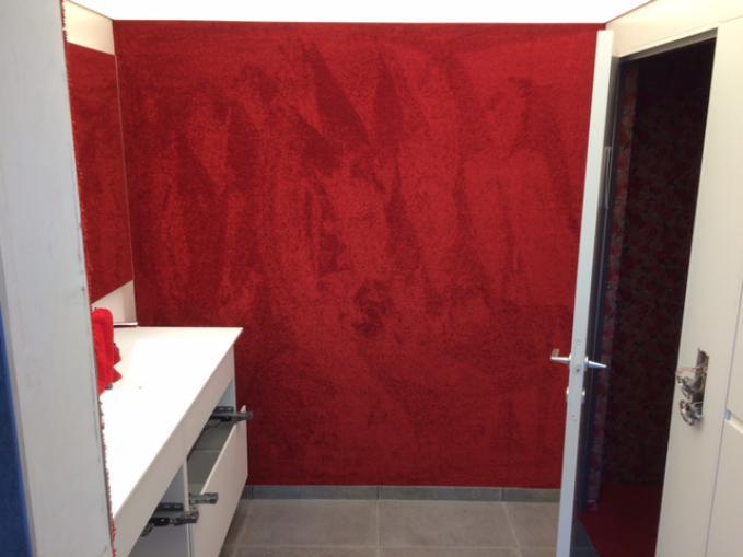 tapijt in badkamer